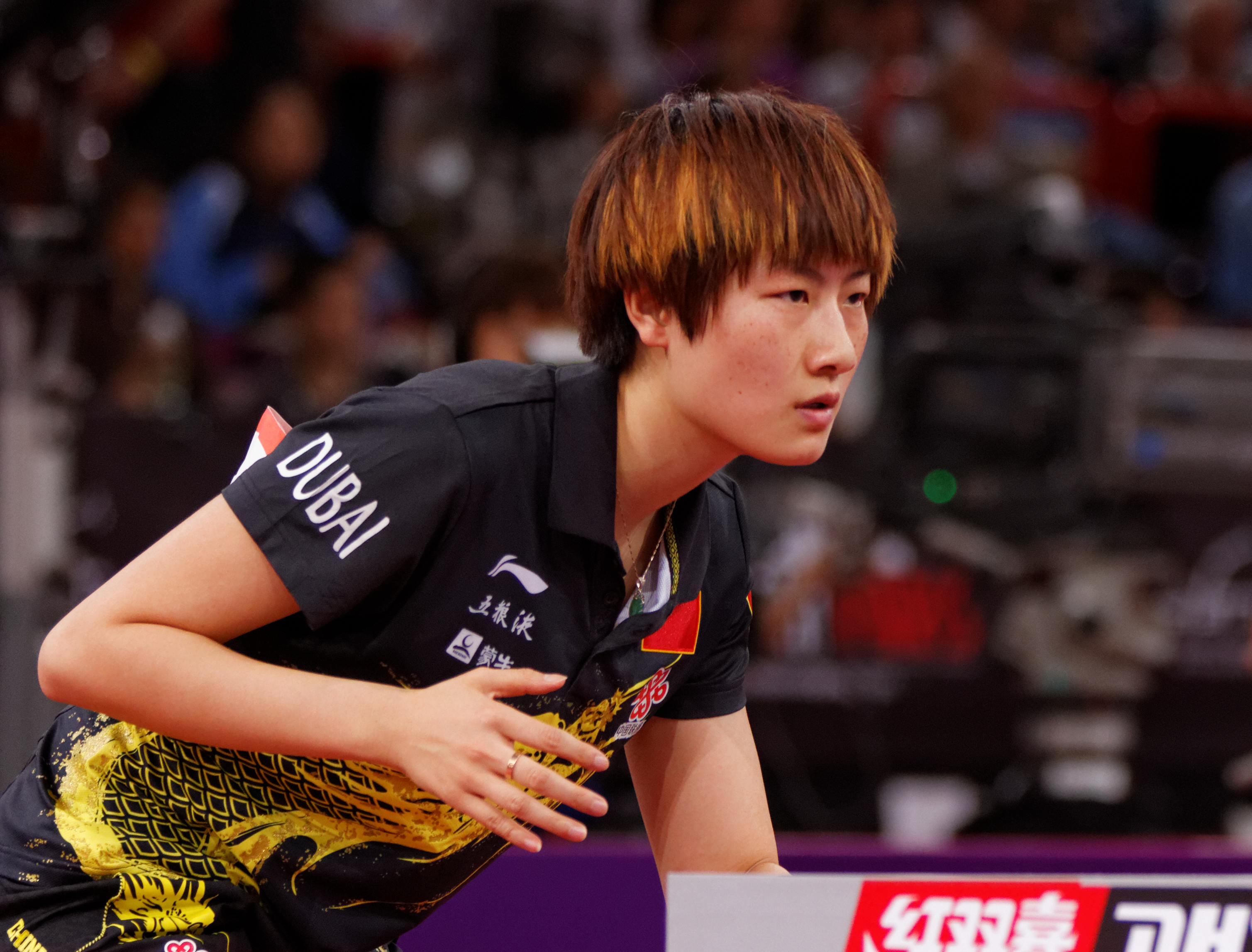 The Best Female Ping Pong Player